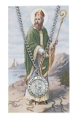 Saint Patrick prayer card set