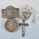 St. Christopher Auto Rosary and Visor Clip