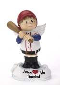 Baseball Angel Figurine