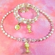 First Communion Necklace and Bracelet Set with Chalice